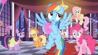 Rainbow Dash rolling eyes S2E9