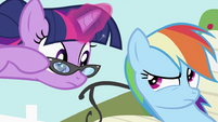 """Rainbow Dash """"She asked me to"""" S2E03"""