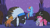 """Rainbow Dash """"we have some apple-picking Appleloosans to talk to"""" S01E21"""