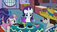 Rarity's family at the breakfast table S2E5