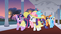 Main 6 going to the party S2E9