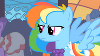 Rainbow Dash angry over being ignored S01E26