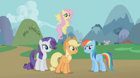 "Applejack ""you knew what those critters were"" S1E10"