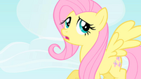 Fluttershy thinking of an excuse S1E25