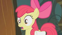 Apple Bloom in shock S1E09