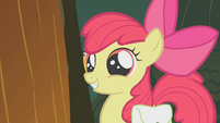 Apple Bloom cute grin S1E09
