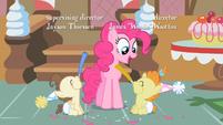Pinkie Pie & Twins cheerful S2E13