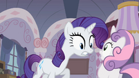 "Rarity ""What did you do"" 2 S2E05"
