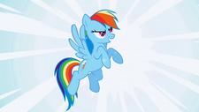 Rainbow Dash fantasiert S1E03