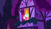 Pinkie Pie at a window 1 S2E16