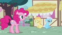"Pinkie Pie Smile Song ""it doesn't matter now"" S2E18"