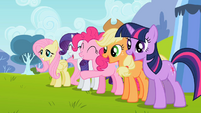 Ponies excited2 S02E07