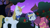 Rarity expecting too much from Blueblood S1E26