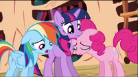 Rainbow, Twilight and Pinkie S02E03