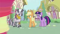 Zecora, Applejack and Twilight S2E06