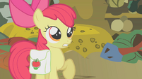 Apple Bloom tells about Zecora's warning S1E09