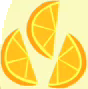 오렌지 이모 큐티 마크