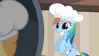 Rainbow Dash super cute smile S2E14