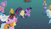 Twilight's awkward dance S2E9