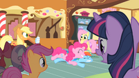 Pinkie Pie dive S01E23