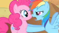 """Rainbow Dash """"And the more of us there are out here"""" S1E21"""