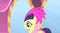 Fluttershy and her headdress S1E20