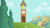 Ponyville clocktower S01E22