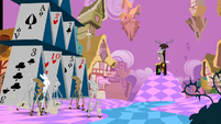 Discord sitting on a throne S2E02