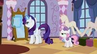 Sweetie Belle 'Back to hating messes' S2E05