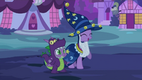 Spike and Twilight happy S2E4