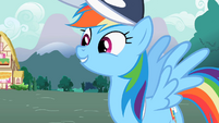 """Rainbow Dash """"Truly awesome"""" S2E07"""