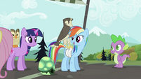 """Rainbow Dash """"Gets to be"""" S2E07"""