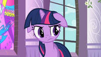 Twilight thinking after Celestia's explanation S2E1