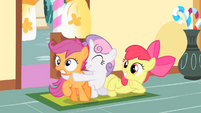 Scootaloo being grabbed S1E23