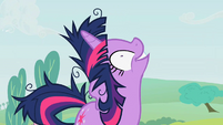 Twilight appearing out of nowhere S2E3