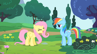 Fluttershy saying yay S1E16