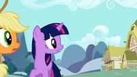 Twilight and Applejack realize Zecora left S2E06