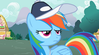 """Rainbow Dash """"Not awesome"""" S2E07"""