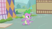 Spike hatching evil plan S1E24