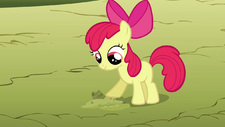 Apple Bloom helps plant seeds S03E13