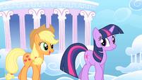 Applejack and Twilight1 S01E16