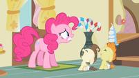 Pinkie Pie think of something S2E13
