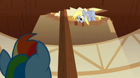 Derpy Hooves looking down 2 S2E14