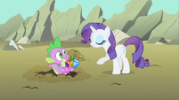 """Rarity """"gems to snack on"""" S1E19"""