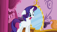 Rarity is surprised S2E05