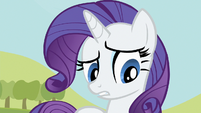 Rarity looks worried S2E05