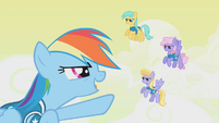 Rainbow clears other Pegasi for takeoff S1E11