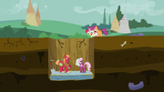 """Cheerilee """"Why am I getting married at the bottom of a pit?"""" S2E17"""