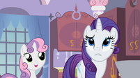 "Rarity ""You can"" S2E05"