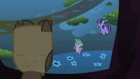 Spike apologizes to Owlowiscious S01E24